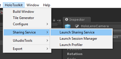 LaunchSharingService