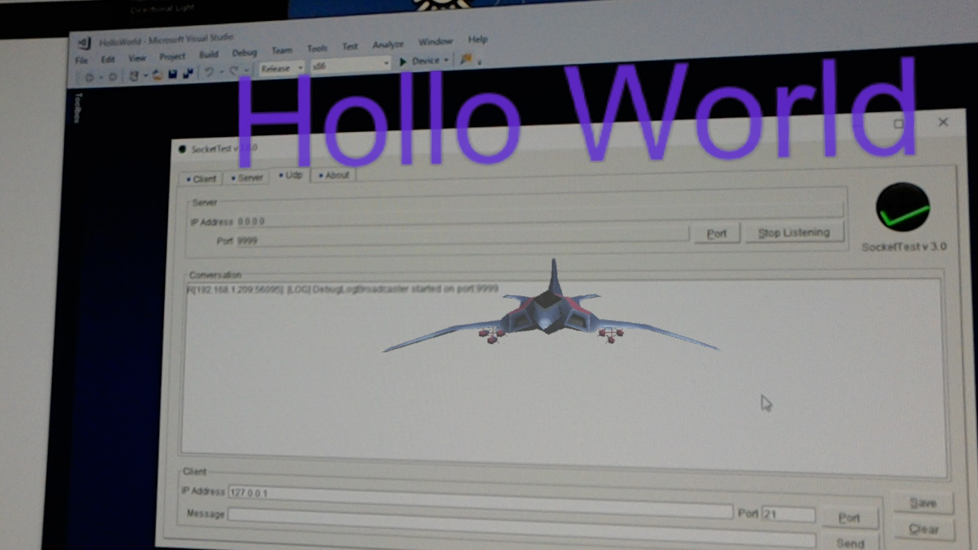 Hololens Contest – (9 Weeks to go) – Networking, Web Server, Shared